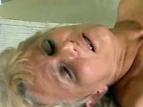 Granny gets fucked by young horny doctor in his office