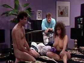 Cute hot milf gets cum on tits after hard sex orgy
