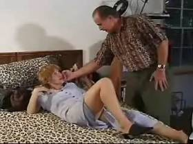 Blonde mature has hot oral sex and jumps on cock